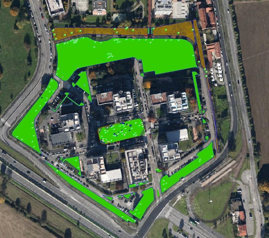 Rilievo e censimento del verde Milano Federico Simone
