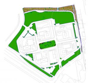 Rilievo topografico area verde