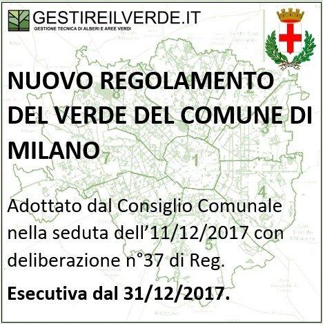 Regolamento del verde Milano