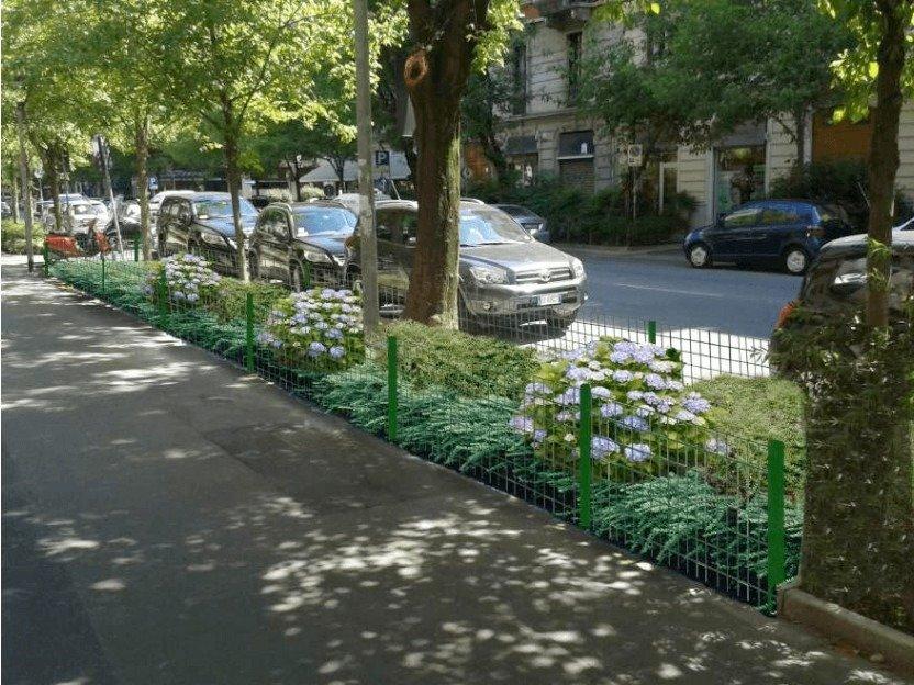 Foto composizione Aiuola Sponsor 1 - Progettazione del verde