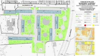 Rappresentazione progetto esempio 10 - Progettazione del verde