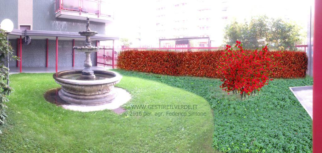 Rappresentazione progetto fotorealistica 1 1024x488 - Progettazione del verde