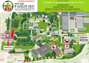 AIPV DAY 2021 planimetria espositori evento